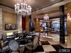 美式新古典风格餐厅设计图片大全