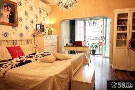 美式小别墅卧室装修效果图