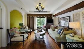 美式风格客厅装饰效果图大全