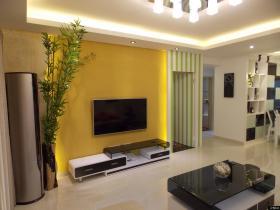 现代客厅电视背景墙设计图大全