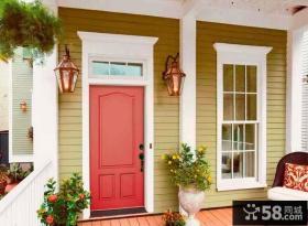 欧美风格别墅实木复合门效果图