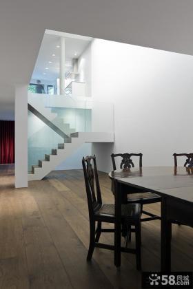简约别墅楼梯设计效果图