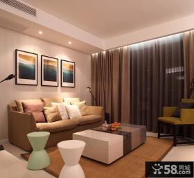 优质简约家居风格客厅装修图