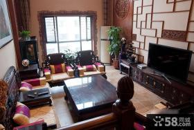 古典大器中式客厅装修案例
