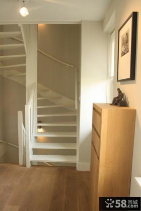 复式阁楼旋转楼梯