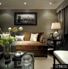 现代沙发背景墙装饰画