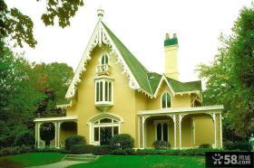 欧式别墅外观设计图片