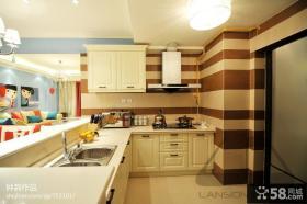 开放式厨房装修设计图