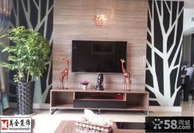 婚房客厅电视背景墙家装效果图