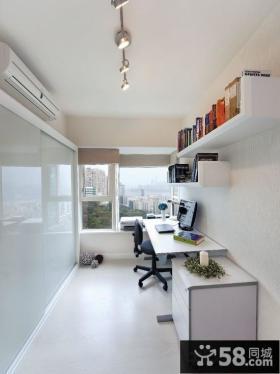 6平米阳台变书房装修效果图