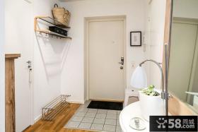 北欧风格家居公寓玄关设计效果图片