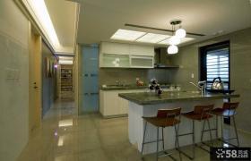 简约风格样板间装修厨房图片