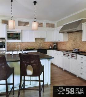 70平米小户型开放式厨房装修效果图