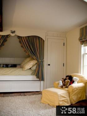 复式楼明朗可爱的儿童房装修效果图大全2014图片