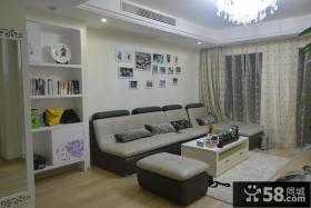 简单家庭客厅装修设计效果图