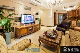 2013家装客厅瓷砖电视背景墙装修效果图