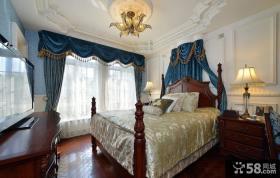 欧式豪华别墅大卧室图片欣赏