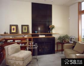 很现代的中式客厅装修图片