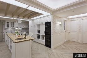 家居开放式整体厨房装修设计图