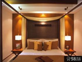 简中式主卧室装修效果图欣赏