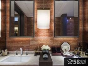 豪华中式别墅室内装修图片