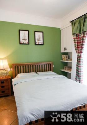 绿色清新儿童房间装饰设计