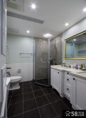 后现代风格卫生间室内装修图片