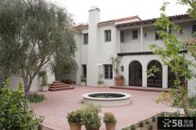 私家别墅庭院设计效果图