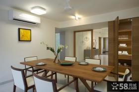 简约复式家居餐厅设计效果图片