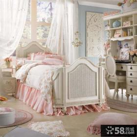 欧式豪华公主卧室装修效果图