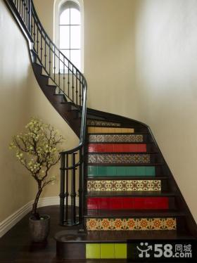 2015现代风格室内楼梯效果图大全