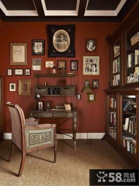 美式书房装饰设计展示