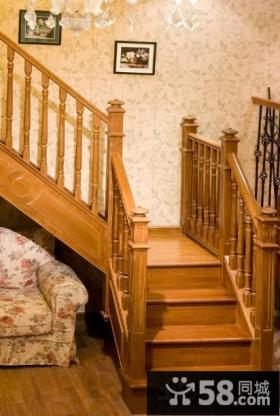 实木楼梯装修设计图片