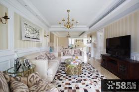 2015美式风格装修设计公寓效果图欣赏大全