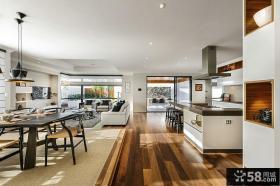 现代厨房餐厅设计图片