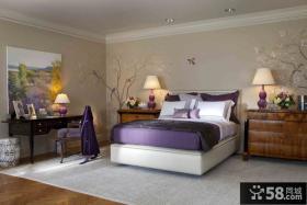 卧室壁纸设计效果图欣赏