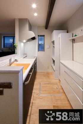 2014小户型厨房装饰设计效果图