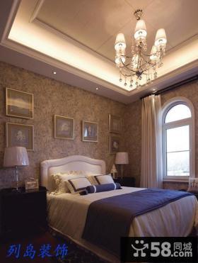 欧式风格的卧室装修图