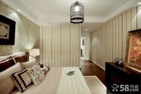 简约新中式卧室睡房设计