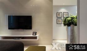 家装瓷砖电视背景墙装修效果图大全