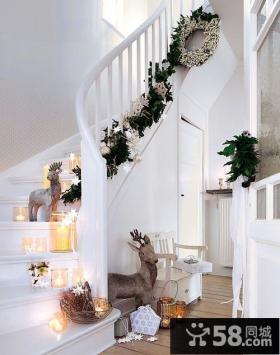 室内楼梯装饰效果图欣赏