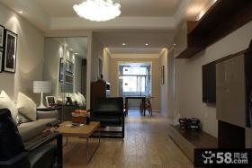 现代简约风格两室两厅装修效果图片