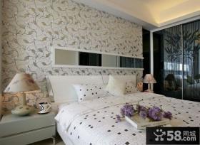 时尚温馨卧室装修效果图大全