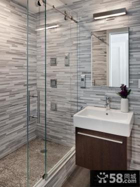 小浴室装修效果图欣赏