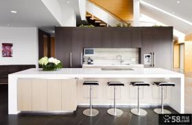 开放式厨房装修设计效果图欣赏