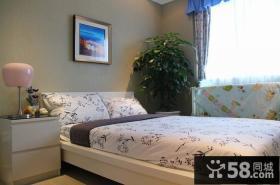 惠州万林湖现代小户型样板房次卧
