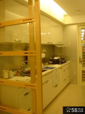 现代中式风格家居设计厨房欣赏