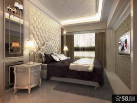 简欧风格卧室设计效果图大全