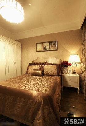 简欧风格70平米小户型卧室装修图片