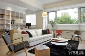 宜家风格两居室室内效果图片